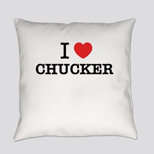 I Love CHUCKER Everyday Pillow