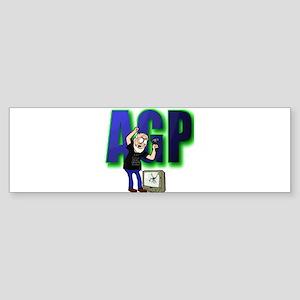 ANGRY GRANDPA TSHIRT Bumper Sticker