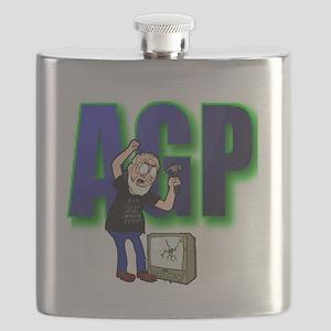 ANGRY GRANDPA TSHIRT Flask