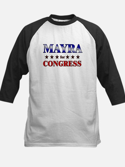 MAYRA for congress Kids Baseball Jersey