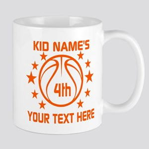 Personalized Baskeball Birthday or Name Mug