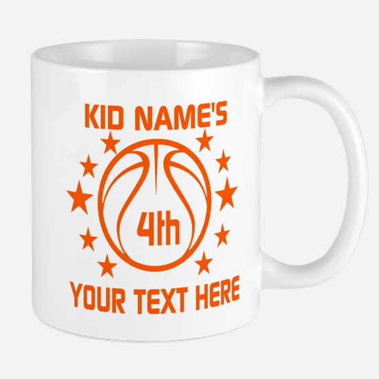 Personalized Baskeball Birthday or Name Mug