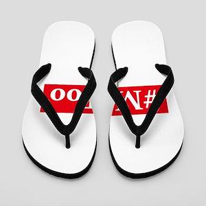 #MeToo Flip Flops