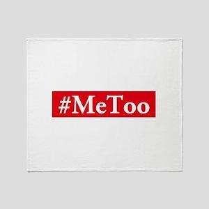 #MeToo Throw Blanket