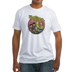 The Space Bastards Fitted T-Shirt