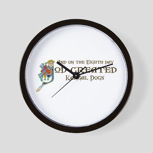 God Created Kangals Wall Clock