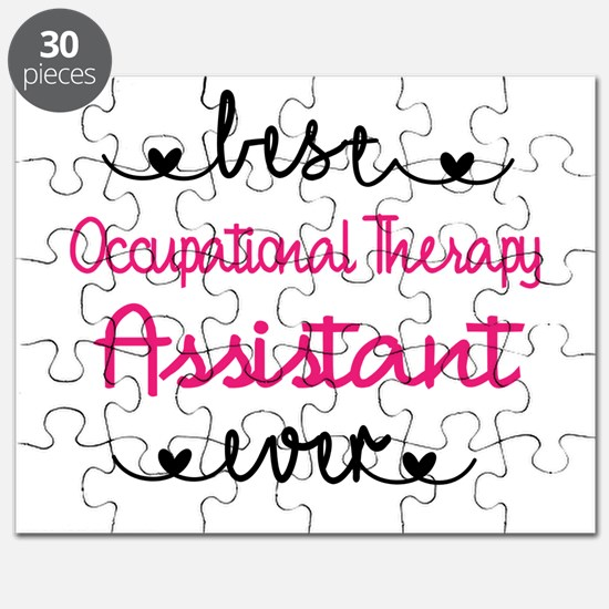 Occupational Therapy Assistant Puzzle