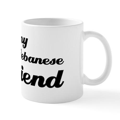 I love my Lebanese Girlfriend Mug