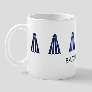 Badminton (blue variation) Mug