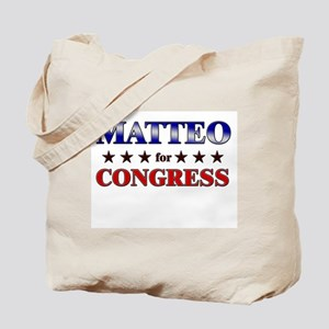MATTEO for congress Tote Bag