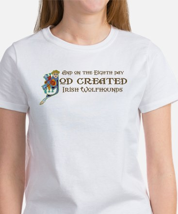 God Created Wolfhounds Women's T-Shirt