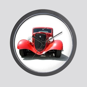 Helaine's Hot Rod Wall Clock