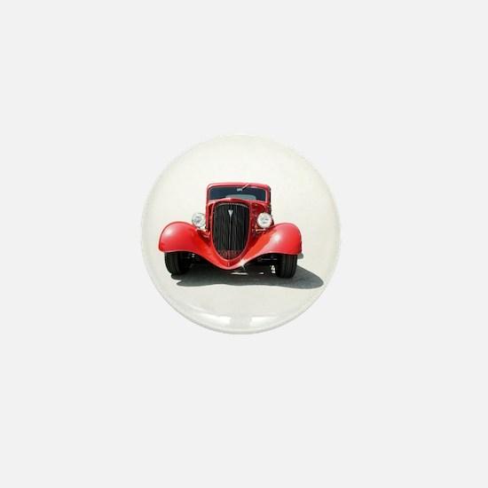 Helaine's Hot Rod Mini Button