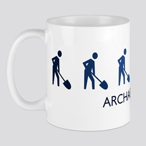 Archaeology (blue variation) Mug