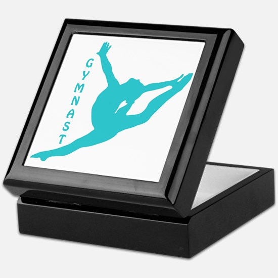 Funny Gymnast Keepsake Box