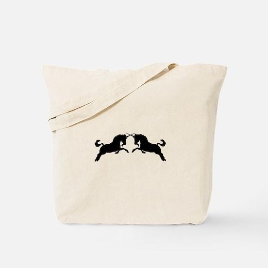 Majestic Unicorns Tote Bag