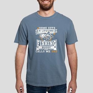 My Fishing Buddy Calls Me Dad T Shirt T-Shirt