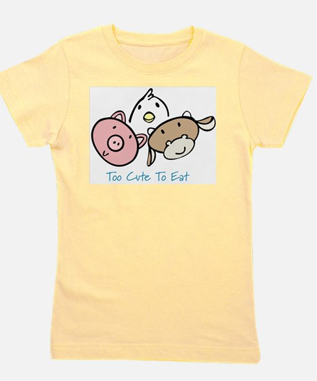 Cool Vegan compassion Girl's Tee