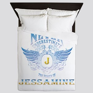 Never underestimate the power of Jessa Queen Duvet