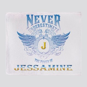 Never underestimate the power of Jes Throw Blanket