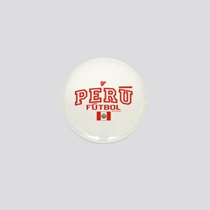 Peru Futbol/Soccer Mini Button