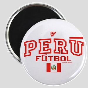 Peru Futbol/Soccer Magnet