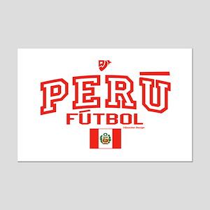 Peru Futbol/Soccer Mini Poster Print