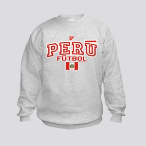Peru Futbol/Soccer Kids Sweatshirt