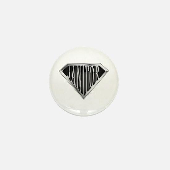 SuperJanitor(metal) Mini Button