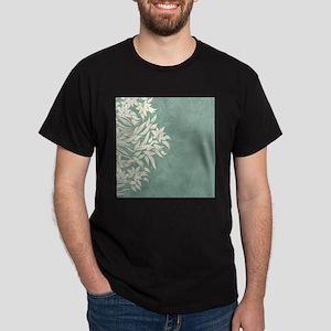 Elegant Floral Dark T-Shirt