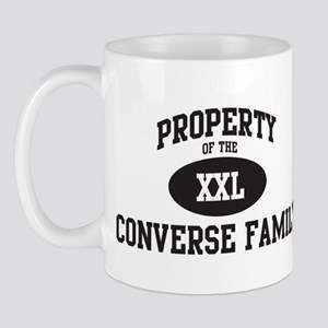 Property of Converse Family Mug
