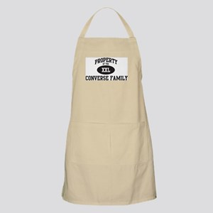 Property of Converse Family BBQ Apron