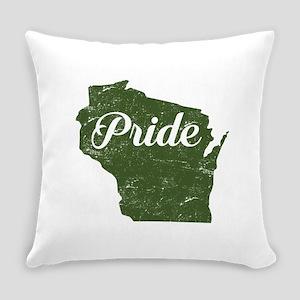 Wisconsin Pride Everyday Pillow