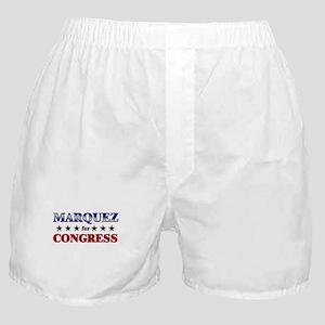 MARQUEZ for congress Boxer Shorts