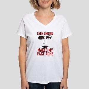 Rocky Horror Face Ache Women's V-Neck T-Shirt