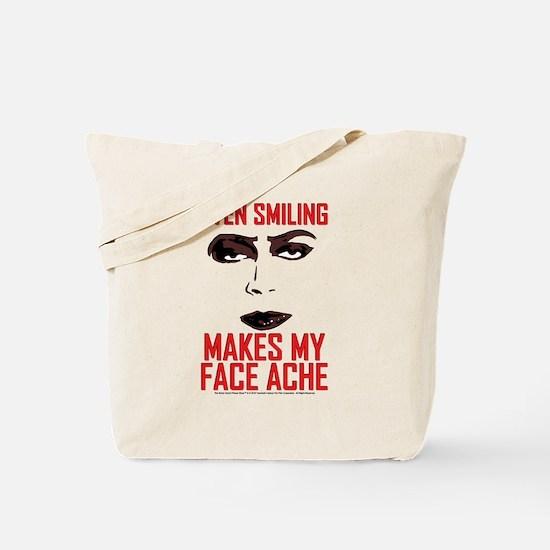 Rocky Horror Face Ache Tote Bag