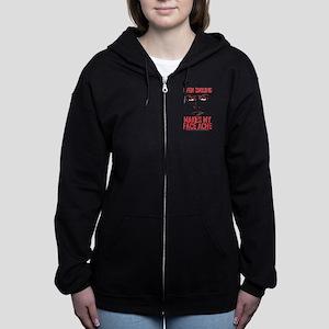 Rocky Horror Face Ache Women's Zip Hoodie
