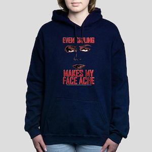 Rocky Horror Face Ache Women's Hooded Sweatshirt