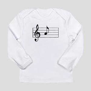 'A' Musical Note Long Sleeve T-Shirt
