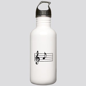 'A' Musical Note Stainless Water Bottle 1.0L