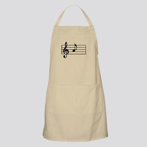 'A' Musical Note Apron