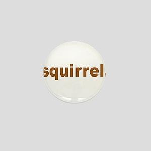 Squirrel Mini Button (10 pack)