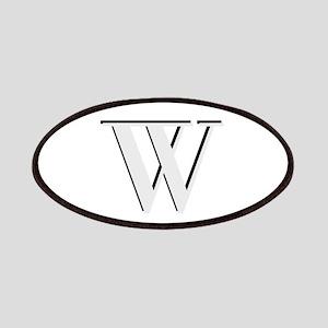 Elegant Monogram Initial Patch