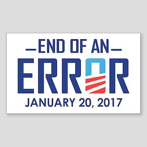 End Of An Error Sticker