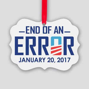 End Of An Error Ornament