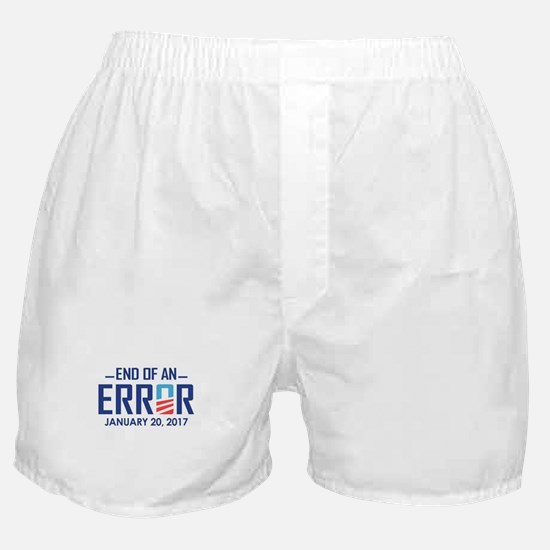 End Of An Error Boxer Shorts