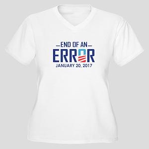 End Of An Error Plus Size T-Shirt