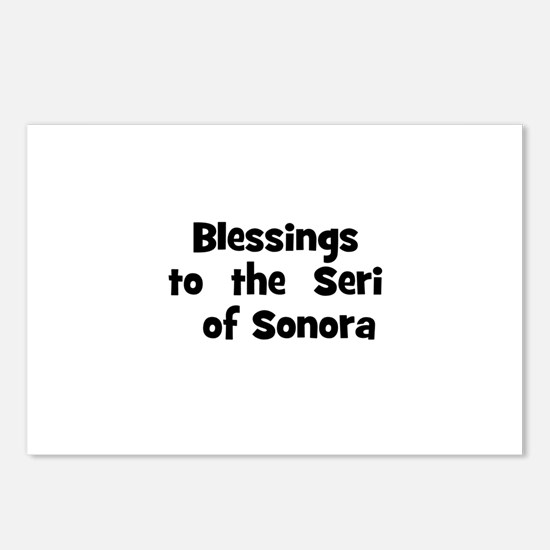 Blessings  to  the  Seri  of  Postcards (Package o