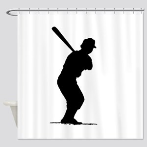 Batter Shower Curtain