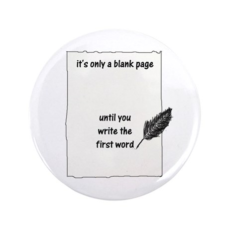 """Blank Page 3.5"""" Button"""